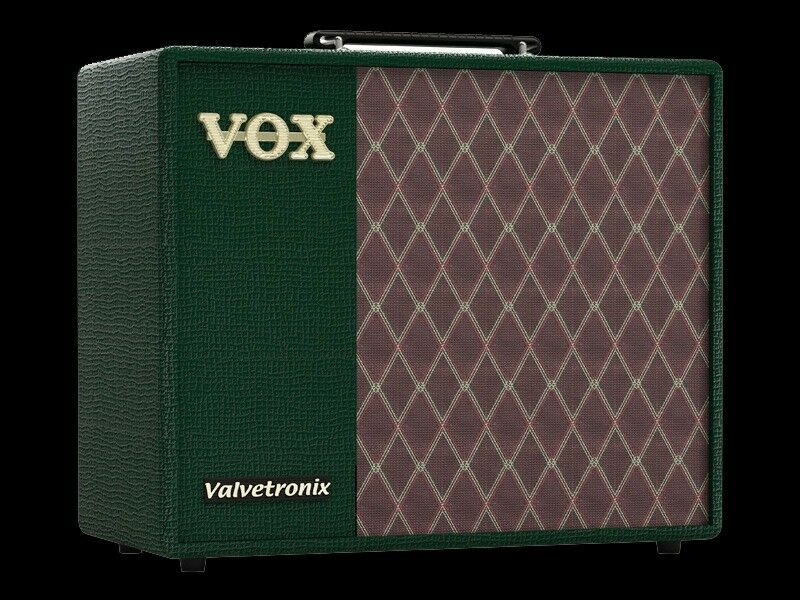 Vox VT40X Amplifier - Limited Edition British Racing Green