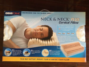 New in Box - 2 - Obusforme Neck & Neck Plus Cervical Pillow