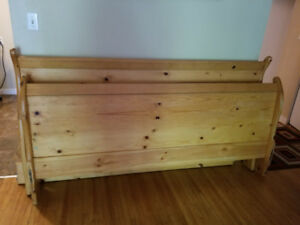 Wooden King Size Bed Frame
