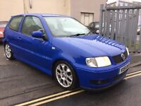 Volkswagen polo colour concept special edition leather heated seats new mot 895