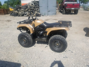 2004 grizzly 660 with ownership $2500