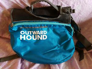 XL outward hound bag&boots