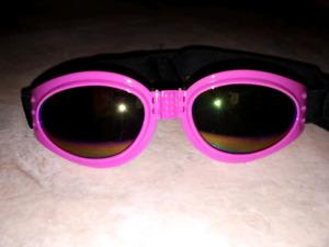 Pink doggie glasses