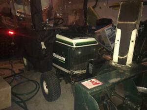 Tracteur jardin tondeuse souffleuse