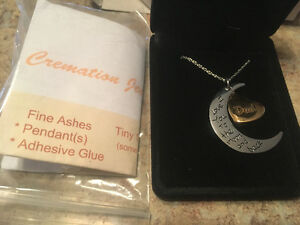 Cremation jewelry (Dad)engraved