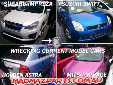 WRECKING - SUBARU IMPREZA - SUZUKI SWIFT - HOLDEN ASTRA - MIRAGE Greenacre Bankstown Area Preview