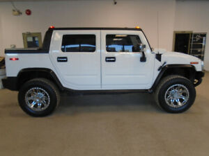 2005 HUMMER H2 SUT! VERY RARE! WHITE ON BLACK! ONLY $16,900!!!!