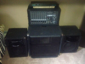 PA System - Sounds Huge with Powered Sub Kitchener / Waterloo Kitchener Area image 1
