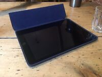 Apple iPad Air 2 - 64GB, WiFi, Space Grey, perfect condition with two Apple cases and Apple Care