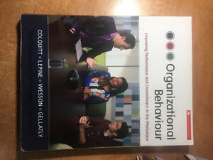 Organizational Behaviour: PrePublication for UWO
