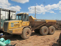 2006 John Deere 250D Articulated Trucks - TwoAvailable!