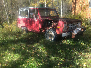 Used 1976 Ford Bronco: Open To Offers