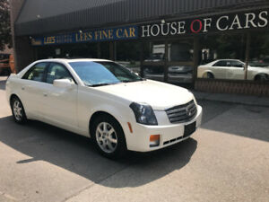 2005 Cadillac CTS - V6 3.6L -Leather ,Sunroof, Alloy wheels,