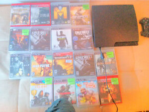 Ps3 and 17 games