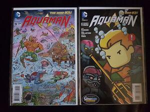 AQUAMAN The New 52 Vol 7 Variant Covers