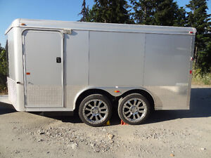 Motorcycle / Snowmoble Enclosed Trailer