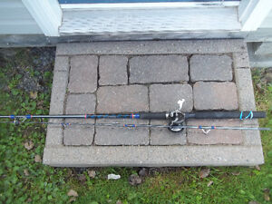 8FT fishing rod and Salt water reel