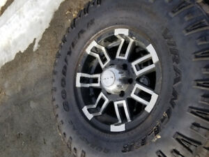 16inch Chevy/gmc rims great shape