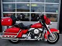 1990 HARLEY DAVIDSON ELECTRA GLIDE with only 17,444 miles !!!!!