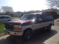 1996 F150 V8 Regular Cab 8ft Box 2WD