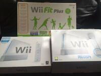 Wii, extras, games & wii fit board