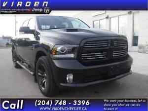 2017 Ram 1500 Sport **LOW KMS!! LOCALLY OWNED!!**