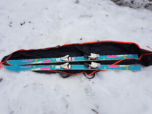 Head downhill 6 ft skis
