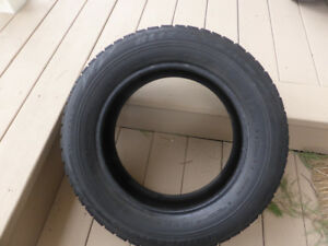 "Bridgestone Blizzak WS70 Winter Tire - 195-65-15"" + VW Steel Rim"