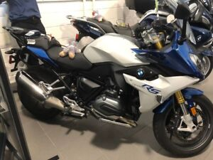 2016 BMW R1200RS Lupin Blue Sport Touring