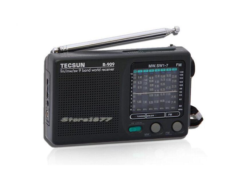 Tecsun R-909 AM/FM/SW 1-7 9 Bands World Band Receiver Portable Radio s459