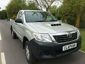 2014 14 TOYOTA HILUX 2.5D 4WD EURO 5 145 BHP 1 COMPANY OWNER ONLY 13000 MILES