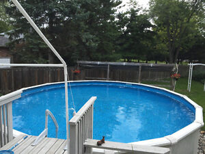 Complete pool for sale - as is and working