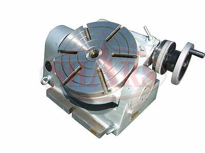 Shars High Precision 10 Tilting Rotary Table .0004 - .0008 Certificate New