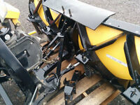 2003 FISHER XTREME V PLOW-USED
