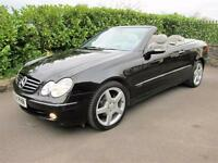 Mercedes-Benz CLK 240 Avantgarde Convertible Obsidian Black Metallic