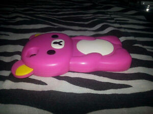 IPHONE 4/4 Pink Rilakkuma Phone Case Cambridge Kitchener Area image 4