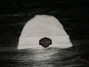 Harley Davidson baby touque 0-6 mo with gift box