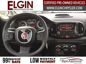 2015 FIAT 500L Lounge***Leather,Pano,Navi,B-up Cam*** London Ontario image 11