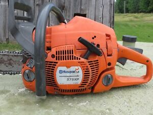 Husqvarna 575XP chainsaw with 20' bar and chain
