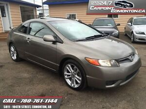 2006 Honda Civic Cpe Si 6 SPEED...SUNROOF...NEW TIRES...HANDS FR