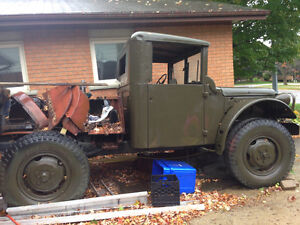 M37 Power Wagon 1952 Dodge 83 truck
