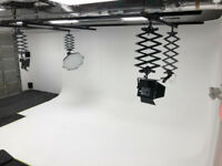 Photography and Film Studio Rentals - Full Cyclorama Wall