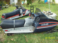 2 EXCELLENT RUNNING KIDS / HUNTING SLEDS $2450