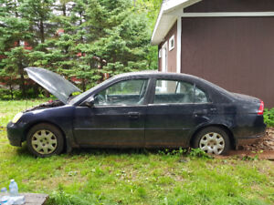 SOLD TODAY OR SCRAPPED! 2001 Honda Civic
