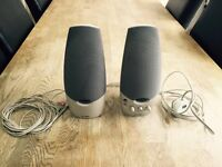 Labtec LCS-1070 Powered Computer Speakers 3d Surround Sound