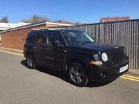 Jeep Patriot 2.0 CRD Sport Station Wagon 4x4 5dr 2007 57 REG 113K BLACK