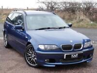BMW E46 330d M Sport Touring, Auto, 114k Miles, 1 Year MOT, 2002, Topaz Blue