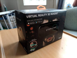 BNIB Utopia 360 VR with Built In Action Button