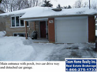 R3 zoning (duplex/Triplex). Fully finished house top to bottom,