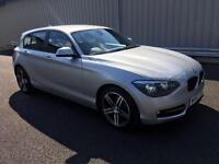 2012 62 BMW 1 SERIES 2.0 118D 141BHP SPORT 5 DOOR MANUAL DIESEL